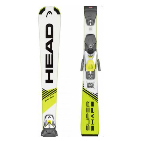 Head SUPERSHAPE SLR + SLR 7.5 AC - Kids' downhill skis