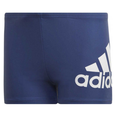 adidas YOUTH BOYS BOS BOXER blue - Boys' swim shorts