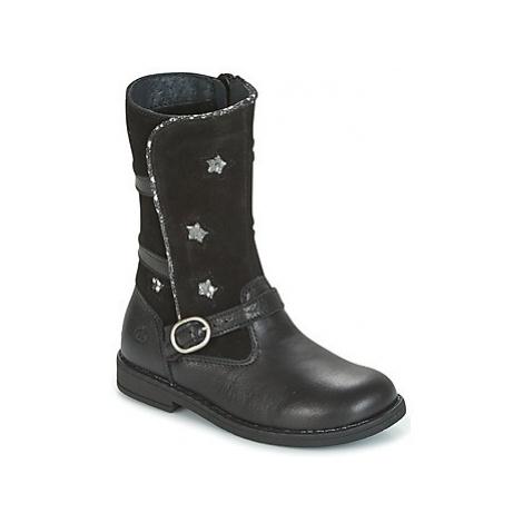 Citrouille et Compagnie HANDRE girls's Children's High Boots in Black
