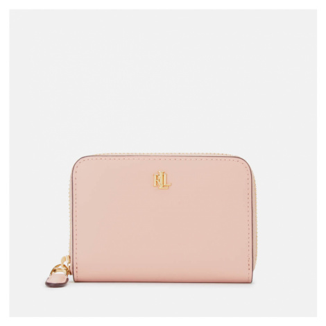 Lauren Ralph Lauren Women's Small Zip Wallet - Mellow Pink/Porcini