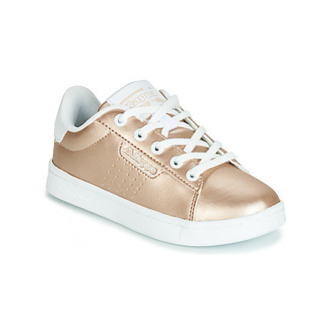 Kappa TCHOURI girls's Children's Shoes (Trainers) in Gold