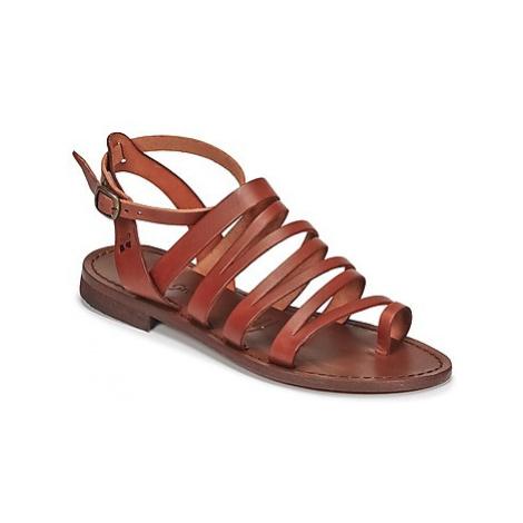 Dream in Green IRVINA women's Sandals in Brown