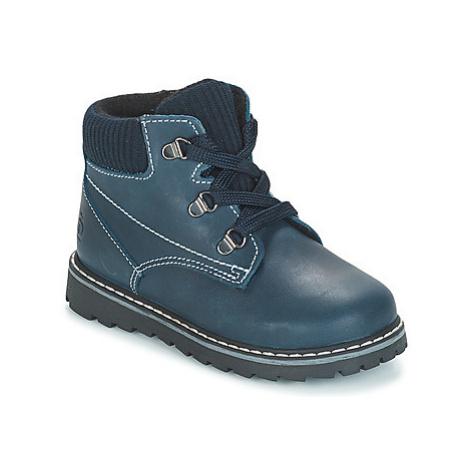 Citrouille et Compagnie JOBA boys's Children's Mid Boots in Blue
