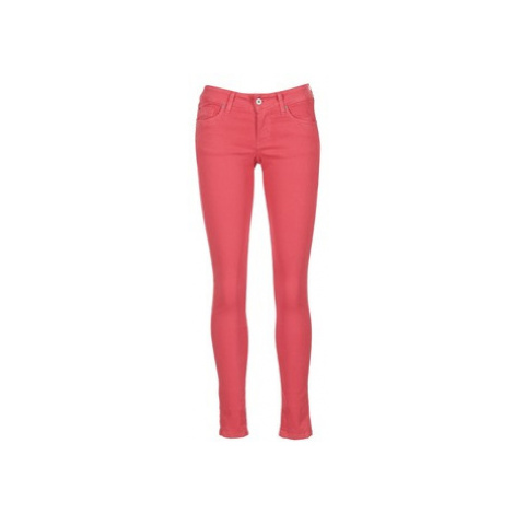 Pepe jeans SOHO women's Trousers in Pink