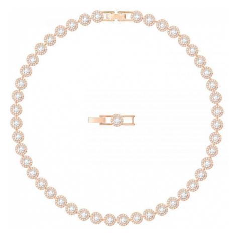 Ladies Swarovski Gold Plated Angelic Necklace