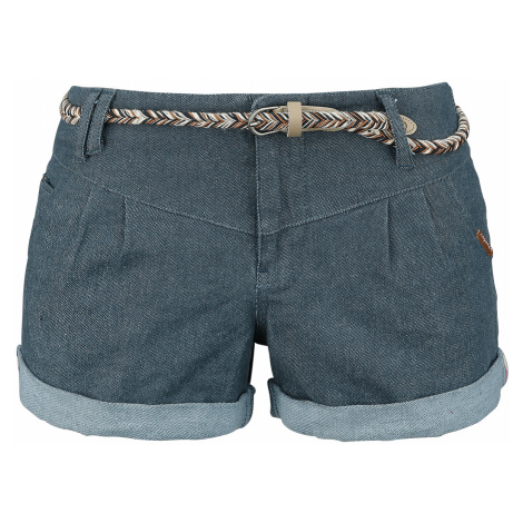 Ragwear - Heaven A - Girls shorts - denim-blue
