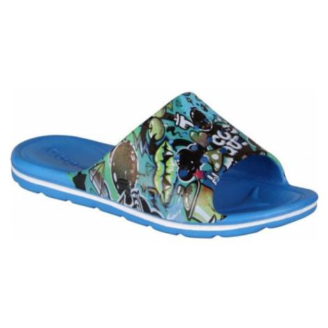 Coqui PRINTED blue - Children's slides