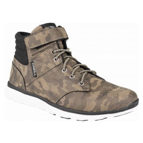 O'Neill RAILER LT CAMO KIDS brown - Boys' ankle sneakers