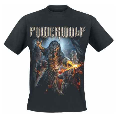 Powerwolf Incense And Iron T-Shirt black