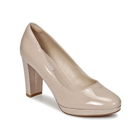 Clarks KENDRA SIENNA women's Court Shoes in Pink