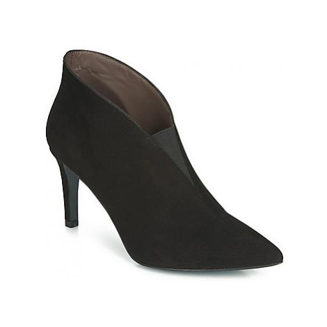 Perlato 11331-CAM-NOIR women's Low Boots in Black