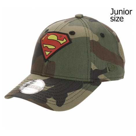 cap New Era 9FO Character Superman Youth - Woodland Camo - unisex junior