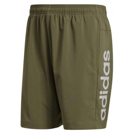 adidas E LIN CHELSEA dark green - Men's shorts