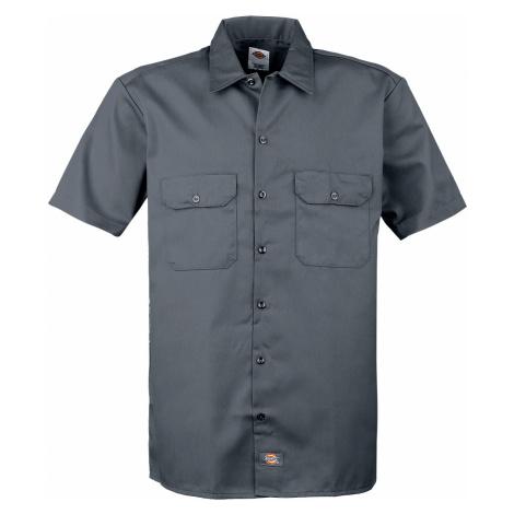 Dickies - Short Sleeve Work Shirt - Workershirt - charcoal