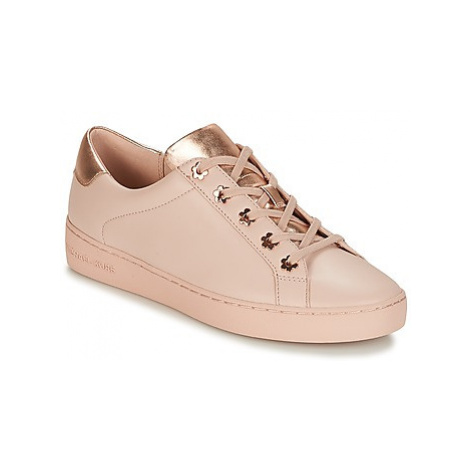MICHAEL Michael Kors IRVING women's Shoes (Trainers) in Pink