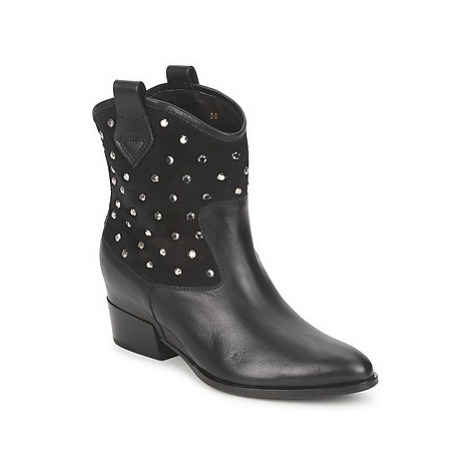 Alberto Gozzi GIANNA women's Mid Boots in Black