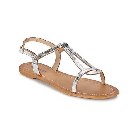 Les Tropéziennes par M Belarbi HAMAT women's Sandals in Silver