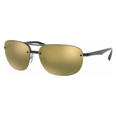 Ray-Ban Rb4275 chromance Man Sunglasses Lenses: Green Polarized, Frame: Black - RB4275CH 876/6O
