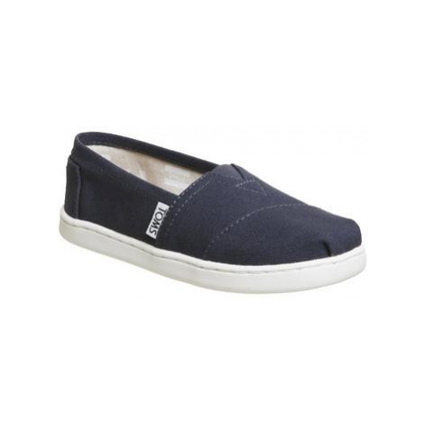 Toms Youth Classics NAVY WHITE
