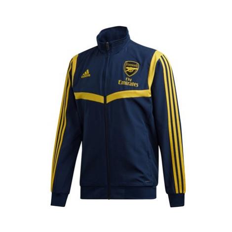 Arsenal UCL Training Presentation Jacket - Navy Adidas
