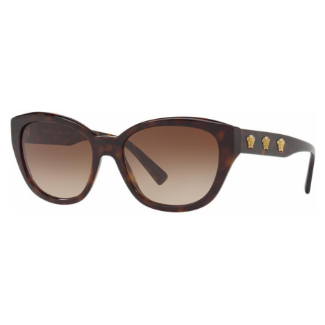 Versace Woman VE4343 - Frame color: Brown, Lens color: Brown Gradient, Size 56-18/140