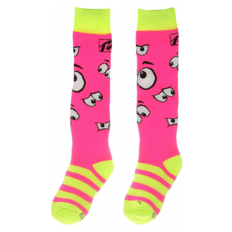 socks Relax Happy - RSO35A/Neon Pink - kid´s