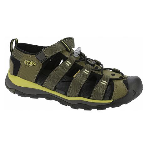 shoes Keen Newport Neo H2 - Dark Olive/Celery
