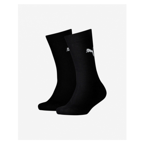 Puma Easy Rider Socks 2 pairs Kids Black