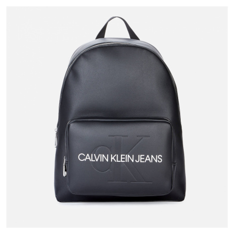 Calvin Klein Jeans Women's Campus Backpack with Pckt 40 - Black