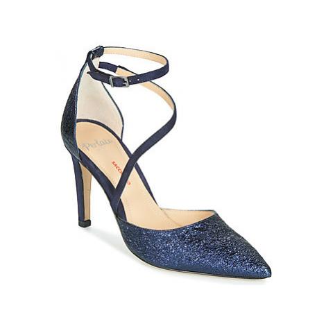 Perlato BELUDI women's Court Shoes in Blue
