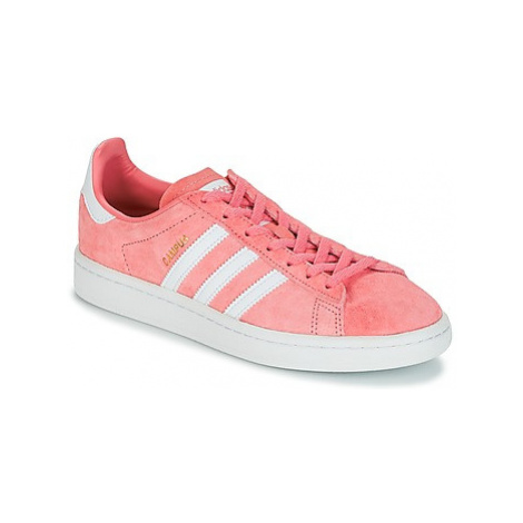 Adidas CAMPUS W women's Shoes (Trainers) in Pink