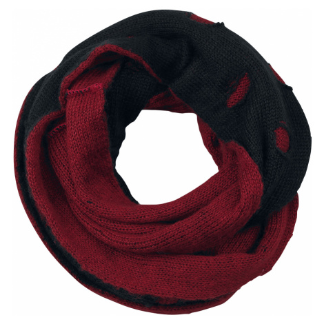 Black Premium by EMP - Take Your Scarf - Scarf - black-red