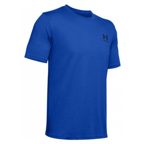 Under Armour SPORTSTYLE LC SS blue - Men's T-shirt