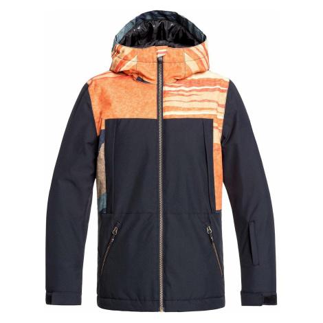 jacket Quiksilver TR Ambition - NML6/Apricot Orange Tr Sunrises - boy´s