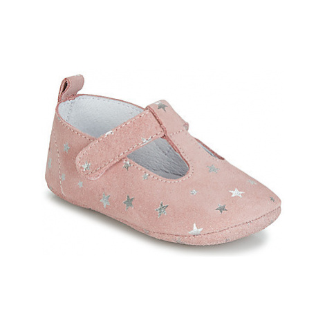 Citrouille et Compagnie JARI girls's Children's Slippers in Pink