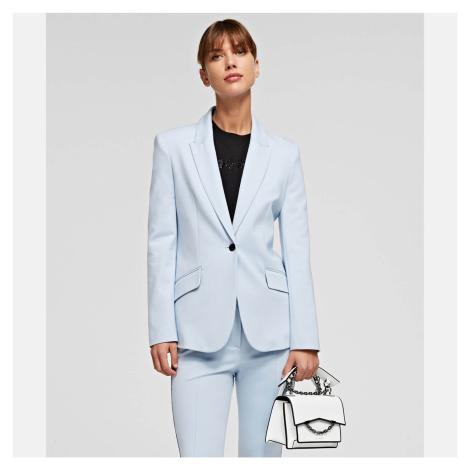 KARL LAGERFELD Women's K/Karl Seven W&B Shoulder Bag - White/Black