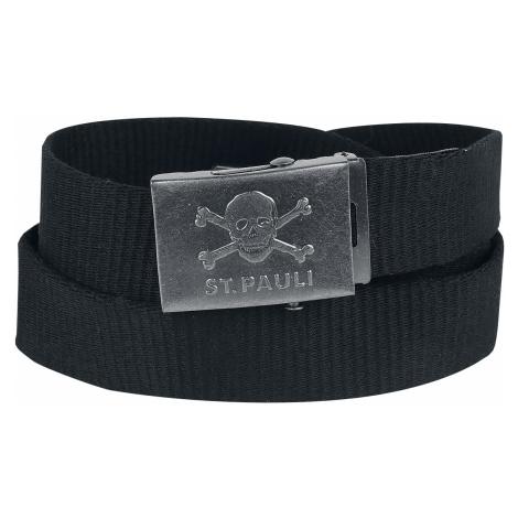 FC St. Pauli - Skull - Belts - black