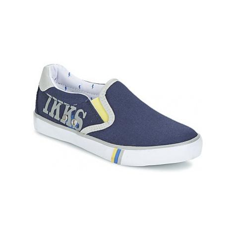 Ikks DANIEL boys's Children's Slip-ons (Shoes) in Blue