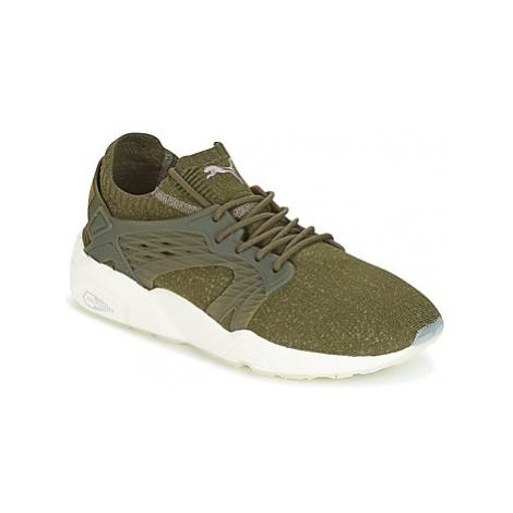Puma BLAZE CAGE EVOKNIT men's Shoes (Trainers) in Kaki