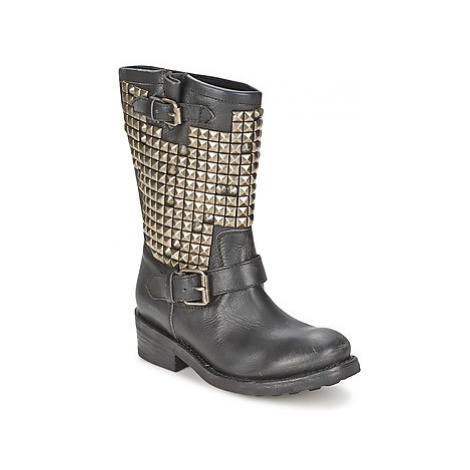 Ash TRASH women's Mid Boots in Black