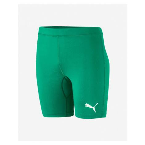 Puma Liga Baselayer Kids Shorts Green