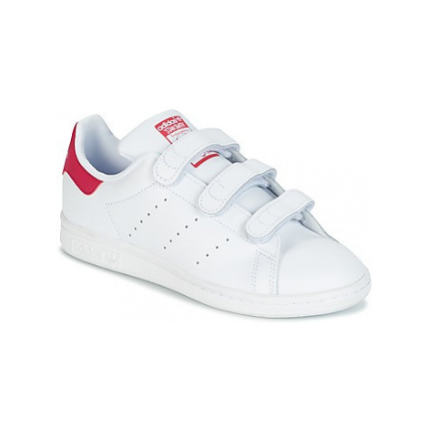 Adidas STAN SMITH girls's Children's Shoes (Trainers) in White