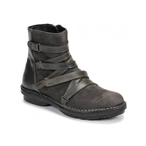 Fly London FELT women's Mid Boots in Black