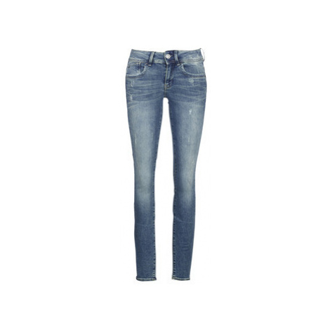 G-Star Raw LYNN MID SKINNY women's in Blue