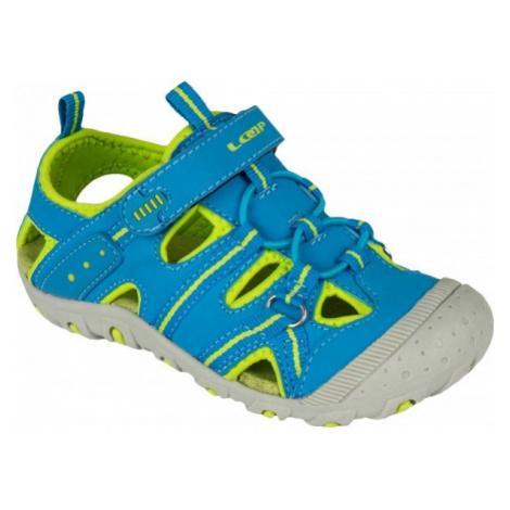 Loap GRUMPY blue - Kids summer sandals