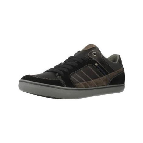 Geox U SMART men's Shoes (Trainers) in Brown
