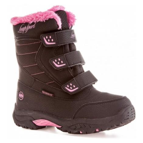 Loap KITTAY pink - Kids' winter shoes