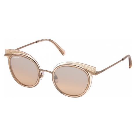 Swarovski Sunglasses, SK0169 - 72G, Peach