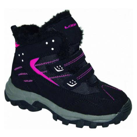 Loap BERNY pink - Kids' winter shoes
