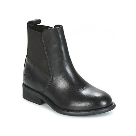 Young Elegant People CANNELLET girls's Children's Mid Boots in Black